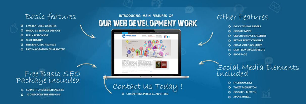 web development in YameeCluster